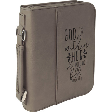 God Is Within Her Bible Cover