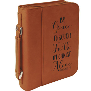 By Grace Through Faith Bible Cover
