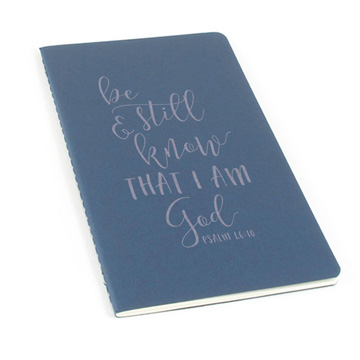 Be Still And Know Laser Etched Moleskine Journal