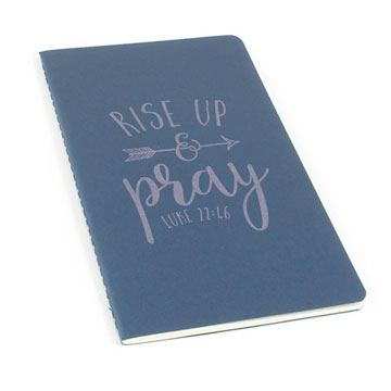 Rise Up And Pray Laser Etched Moleskine Journal