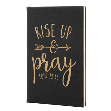 Rise Up And Pray Leatherette Journal