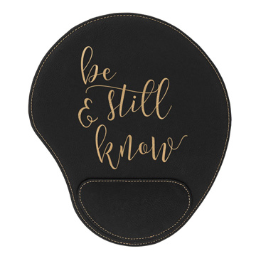 Be Still And Know Mouse Pad