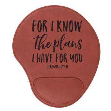 For I Know The Plans Mouse Pad