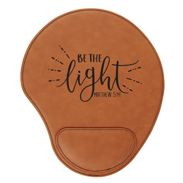 Be The Light Mouse Pad