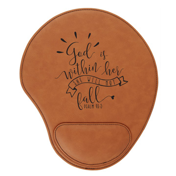 God Is Within Her Mouse Pad