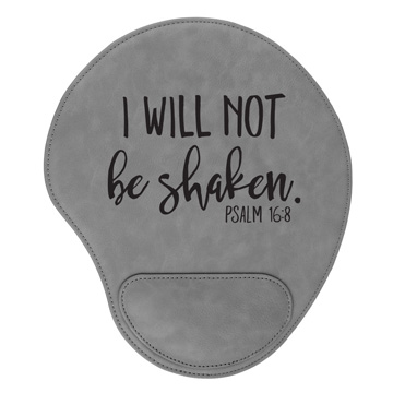 I Will Not Be Shaken Mouse Pad