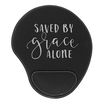 Saved By Grace Alone Mouse Pad
