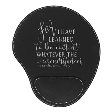 For I Have Learned Mouse Pad