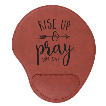 Rise Up And Pray Mouse Pad
