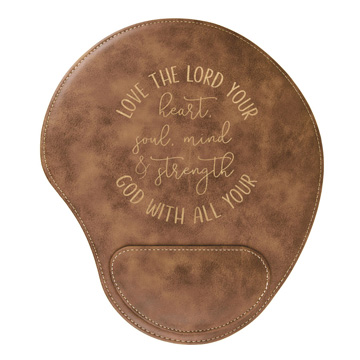 Love The Lord Your God Mouse Pad