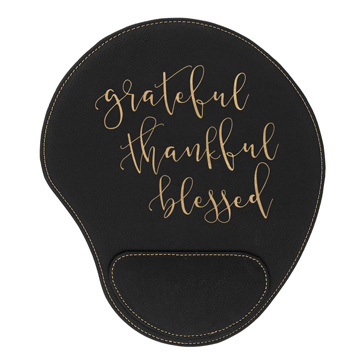 Grateful Thankful Blessed Mouse Pad