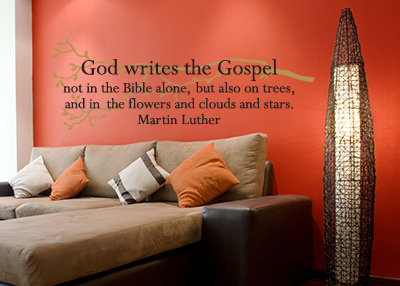God Writes The Gospel