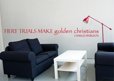 Trials Make Golden Christians