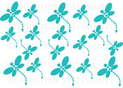 Dragonfly Pack Vinyl Wall Statement