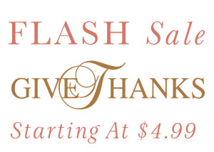FLASH SALE - Give Thanks Decal
