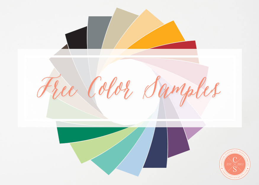 FREE Color Sample Request