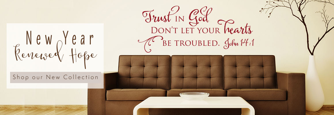 Christian wall decals and more scripture prints bible for Christian wall mural
