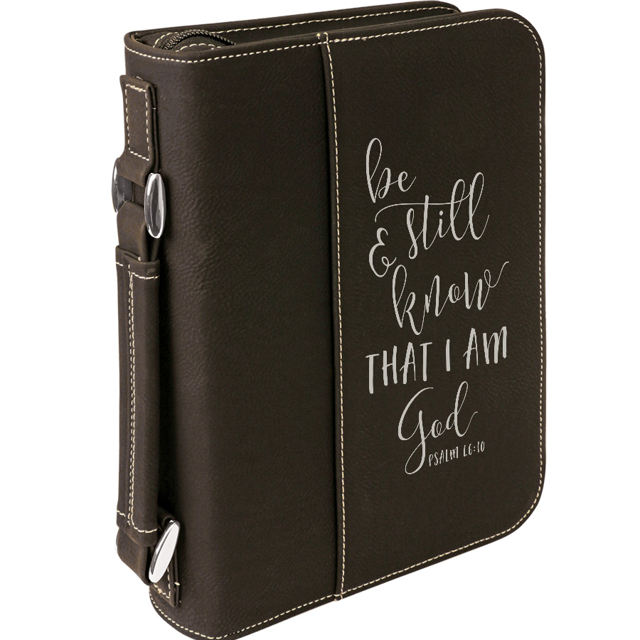 Bible Covers: Be Still And Know Bible Cover, Bible Covers, BIBLE033