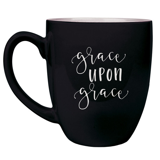 Grace Upon Grace 16 oz Bistro Mug