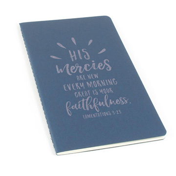 His Mercies Are New Laser Etched Moleskine Journal