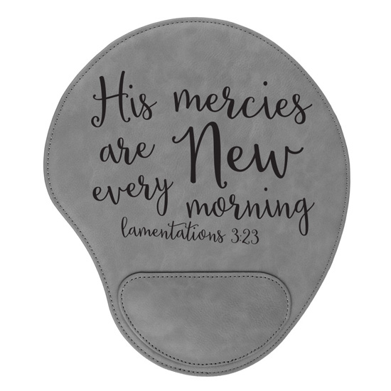 His Mercies Are New Mouse Pad