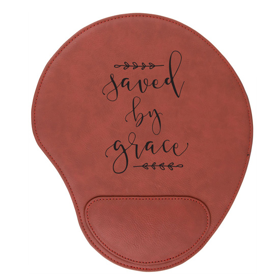 Saved By Grace Mouse Pad