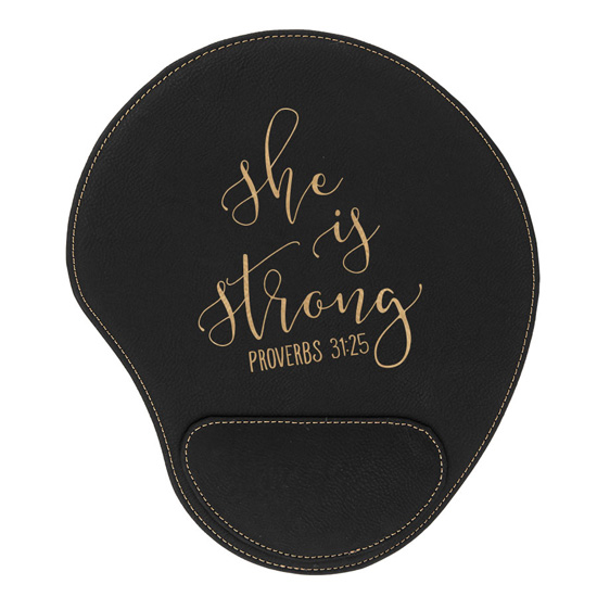 She Is Strong Mouse Pad