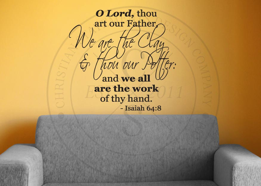 Bible Verse Wall Decals and Christian Decor with a focused on ...