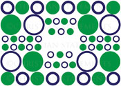Circle and Ring Pack Vinyl Wall Statement