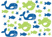 Sea Creatures Pack Vinyl Wall Statement